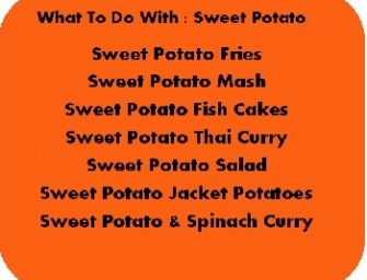 What to Do with: Sweet Potato