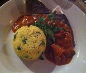 Fish Curry Presentation