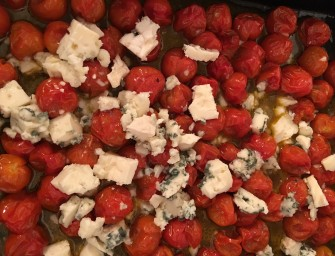 Cherry Tomato & Gorgonzola Pasta Recipe