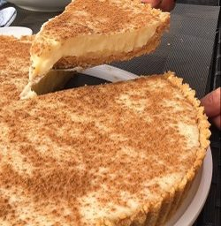 Quick and Easy Microwave Milk Tart