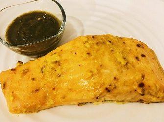 Tandoori Style Fish with Bombay Sauce