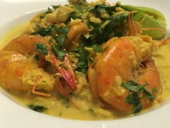 Quick Thai Style Fish Curry