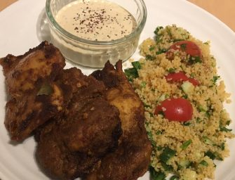 Quick Easy Tasty Middle Eastern Chicken Recipe