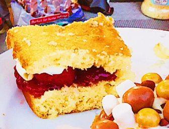No Beater Victoria Sponge Cake
