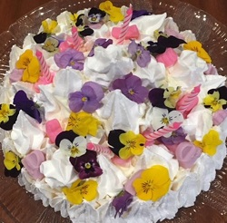 No Cook Celebration Meringue Cake
