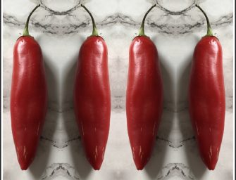 Tip for checking how hot chillies are
