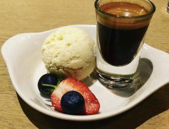 Affogato (Vanilla Ice Cream Drowned in Coffee)